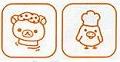 共同購入★【リラックマ】 クリアスタンプセット